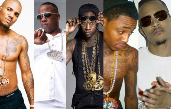 The Game, Yo Gotti, 2 Chainz, Soulja Boy & T.I.