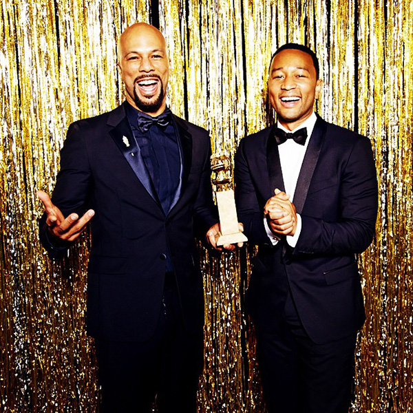 Common & John Legend after Golden Globes win