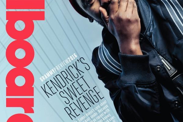 Kendrick Lamar- Billboard cover