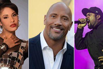 Selena, Dwayne Johnson & Ice Cube