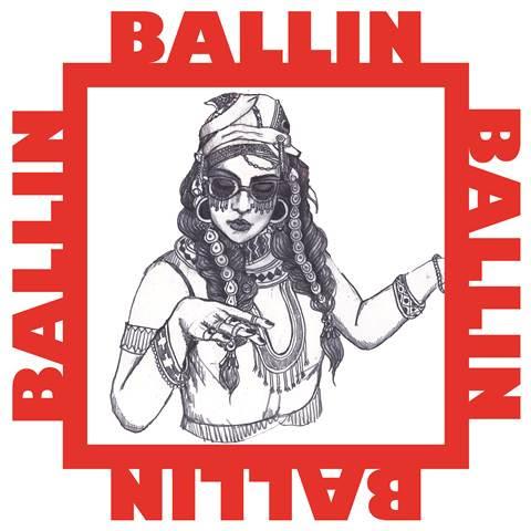 Bibi Bourelly - Ballin single cover
